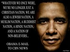While I am a Christian, we are a nation of many faiths.  I want my president to govern in reality, be a leader for all of our nation's people, and have the heart and the backbone to respect our diversity...Obama in 2012!