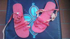 Sandali pelle (Provenienza: Marocco)