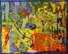 Droom de dromen, schilderij van Christian van Hedel .. Kunst / Abstract / Modern / Schilderij