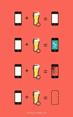 drink & iphone