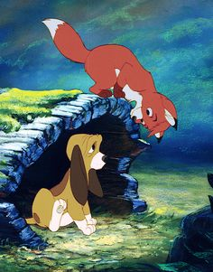 The Fox and the Hound-watched this show every morning with my mom and sister.