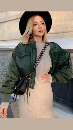 Bucket Handbags, Cool Trucks, Fall Winter, Ootds, How To Wear, Outfits, Beauty, Dresses, Fashion