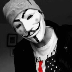 render ( V ) Anonymous Tattoo, Anonymous Mask, Smoke Photography, Grunge Photography, Sad Anime, Anime Art, Joker Mask, Purge Mask, Hacker Wallpaper