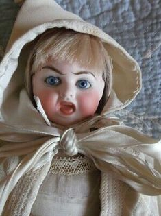 Awesome Carl Bergner Two faced bisque doll very rare, all original, mama sound Dream Baby, Bisque Doll, Doll Head, Country Outfits, Native American Indians, Antique Dolls, Crystal Beads, My Ebay, Baby Dolls