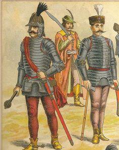 Odzież i broń węgierska XVI - XVII w.