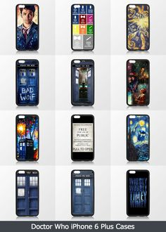 CaseCoco.com Best Doctor Who iPhone 6 Plus Cases with doctor who. tardis ,Matt smith , david tennant,quotes, bad wolf.Hope you like them.Doctor Who iPhone 6 Plus Cases