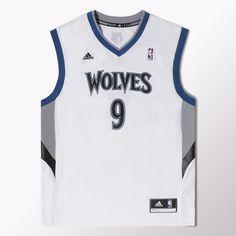 b2673954370d adidas - Minnesota Timberwolves Ricky Rubio NBA Swingman Home Jersey