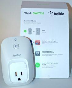 Belkin WeMo Smart Home Automation Switch