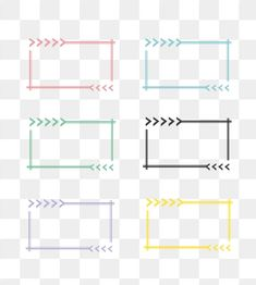 Frame Photo Frame Colored Border Arrow PNG and Vector Background Yellow, Geometric Background, Watercolor Background, Frame Border Design, Photo Frame Design, Adobe Illustrator, Image Clipart, Clipart Images, Creative Photo Frames