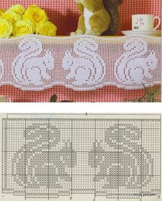 Crochet Border Patterns and motifs: Crocheted motif no. Crochet Fall, Knit Or Crochet, Crochet Motif, Crochet Doilies, Crochet Stitches, Filet Crochet Charts, Crochet Diagram, Crochet Border Patterns, Cross Stitch Patterns