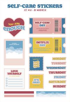 Journal Stickers, Scrapbook Stickers, Planner Stickers, Printable Scrapbook Paper, Preppy Stickers, Cute Stickers, Graphic Design Tutorials, Graphic Design Posters, Tumblr Stickers