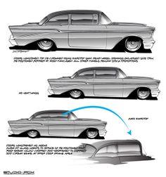 Sketching Ideas by Brian Stupski, via Behance