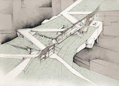 handmade drawings for Tagus Platform, Lisbon, Portugal