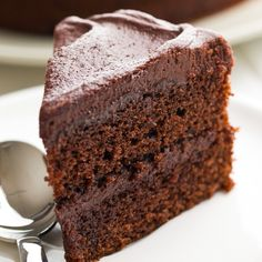 This cinnamon chocolate cake recipe also has a little chile powder in it. Chocolate and spices are a great compliment for each other.