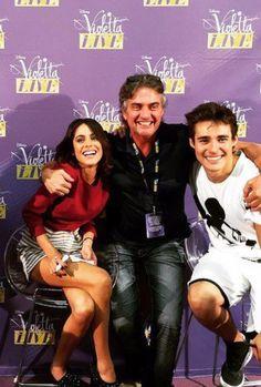 Tini, Tini's dad and Jorge