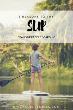 Reasons to try Stand Up Paddle Boarding… I first tried Stand Up Paddle Boarding (or SUP) in Wales a few years ago. It was a surfing trip but that weekend there was one problem… the ocean was completely flat! I was a bit grumpy that I couldn't do my favourite sport, but I gave SUP a go and absolutely loved it. Here are my top five reasons to try stand up paddle boarding! Click through to read the full article.