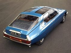 """never-mind-the-dj: """"rhubarbes: 1971 Citroen SM Espace concept by Heuliez via AUTO… http://ift.tt/1o11QkT """""""