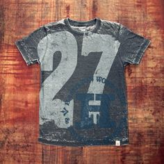 love this one. Men's 27 T-shirt Hamilton Wood Type & Printing Museum