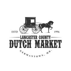 Lancaster County Dutch Market - This Amish market needs a logo! This is a successful Amish market that holds 11 vendors in the town of Germantown, MD....