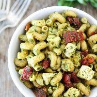 Pesto-Chicken-Pasta-with-Sun-Dried-Tomatoes-4