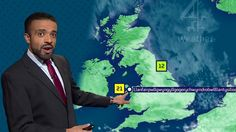 Can you pronounce Llanfairpwllgwyngyll? This weatherman did