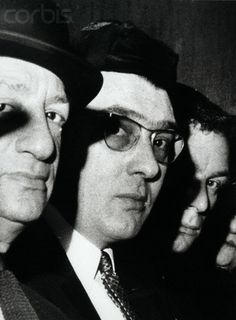 Ronald Kray, wearing glasses at the memorial service for Sophie Tucker… The Krays, Crime Of The Century, Real Gangster, Al Capone, Twin Brothers, Wild Dogs, My Childhood Memories, Rare Photos, Twins