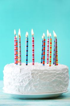 Make a delicious homemade ice cream cake to help celebrate a birthday party or other special occasion!