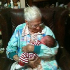 5 generations...my great gma and my nephew...such an amazing sight