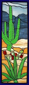 Southwest Stained Glass - made to order