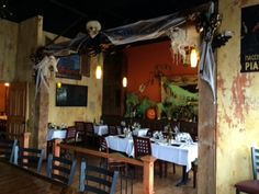 It's Fall in Ciao Bella! #happyhalloween #October #Fall #Pumpkins #Lounge #Greenwebs #rawr