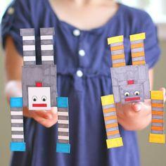 Science for Kids: Balancing Robot (FREE Printable)