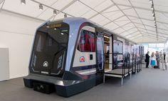 Empresa conjunta de #Siemens y Russian Machines para fabricar material rodante #METRO #MOCKUP RAILWAY #MAQUETA
