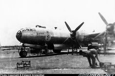 B-29, North Field, Guam.  One of the most powerful WWII planes, shortly after liberation.  My island has such great history!