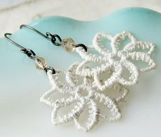 Indie Sista's: Cool Thread and Crochet Earrings