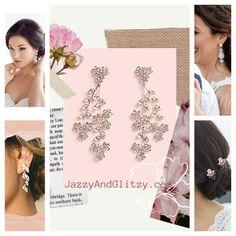 Bridal Earrings, Ted Baker, Tote Bag, Bags, Fashion, Bride Earrings, Handbags, Moda, Fashion Styles