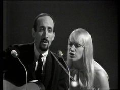 """I have to include a trio because they are my all time favorites:  Peter, Paul, & Mary singing """"Early Morning Rain"""".  I love the harmony."""
