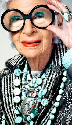 Iris Apfel's jewelry documentary is out! Check out our Iris-inspired baubles.