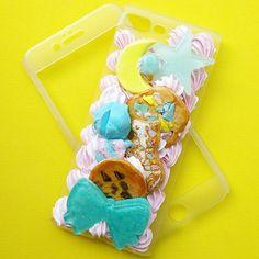 A little gift for a special someone 🤣. @littlekawaiicreations  #decoden #cabochon #japaneseart #makersgonnamake #kawaiiphone #customphonecase #iphone7plus #cutephone  #smartphone #phonecase #sugarcookie #chocolatechipcookie #icecream #bow #moon #star #rainbow #icing #frosting #whippedcream #sweetsdeco #polymerclay #sweetlolita #fairykei #resin #foodart #fakefood #kawaii #cuteart #miniatures