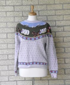 Fair Isle sweater original Deans of Scotland...had about 20 in ...