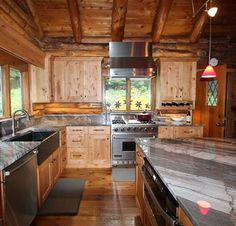 Here's a fabulous view of a Showplace kitchen designed by our friends in New Hampshire at Renoir Renovations. The homeowners chose rustic alder in our Pendleton SPW door style and international plus overlay. Interested in rustic woods? Please visit http://www.showplacewood.com/ProdGuide1/PGrustic/PG.rustics.html to learn more. Renoir Renovations has a great online presence at http://renoirrenovations.com/ worth a peek!
