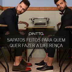 Sapatos feitos para quem quer fazer a diferença