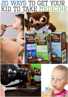 20 Easy Ways to Get a Kid to Take Medicine