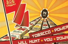 Philip Morris Wants you to SMOKE! by Joel Nilsen, via Behance