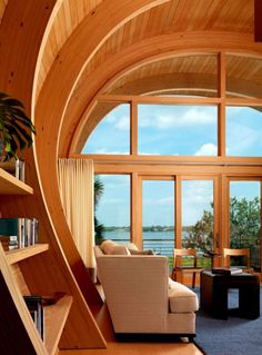 Sweet Casey Key House Library Room View By Totems Architecture listed in: chapman Library Room Booking, scu Library Room Reservation and library room