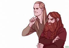Legolas And Tauriel, Thranduil, Tolkien Books, Jrr Tolkien, Bl Comics, Manga Comics, Fellowship Of The Ring, Lord Of The Rings, Glorfindel