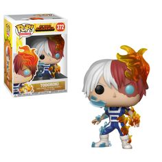 From My hero academia, Todoroki, as a stylized pop vinyl from Funko! Stylized collectable stands 3 ¾ inches tall, perfect for any My hero academia fan! Collect and display all My hero academia pop! Funk Pop, My Hero Academia Merchandise, Anime Merchandise, Figurines Funko Pop, Anime Figurines, Figurine Pop Manga, Anime Pop Figures, Pop Figures Disney, Vinyl Figures