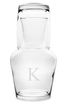 Personalized Bedside Water Carafe Set available at #Nordstrom
