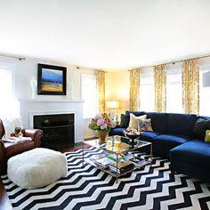 Ikea Living Room on Living Room Rust Orange Zig Zag Chevron Rug Design Ideas  Pictures