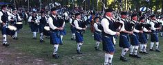 City of Dunedin Pipe Band - we attended countless concerts at the marina.