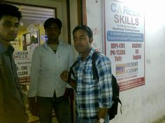 Students of Combined Competitive Examinations Preparatory entering Dhanbad center of Career Skills Academy